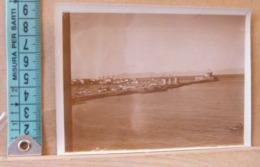 MONDOSORPRESA,  FOTOGRAFIA, RODI, MOLO E PORTO DEI CAVALIERI - COSTA ASIATICA , BANDIERA ITALIANA 1914 - Luoghi