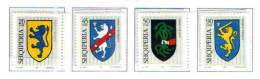 Albania Stamps 2002. ALBANIAN HERALDICS (Heraldic, Heraldica). Set MNH. - Albania