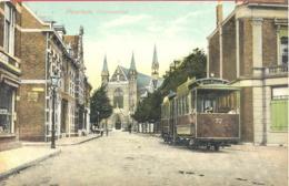 HAARLEM  Ostadestraat  Mit Tram 72  Um 1910 - Tram