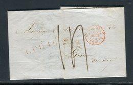 Pays Bas - Lettre ( Avec Texte ) De Utrech Pour La France En 1849 - Prix Fixe - Réf JJ 169 - Nederland