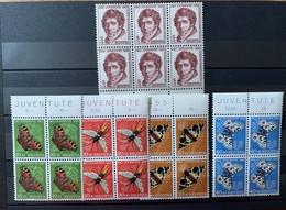 8830 - Série Pro Juventute 1955 Bloc De Quatre *** Neuf MNH Butterfly Papillons - Pro Juventute