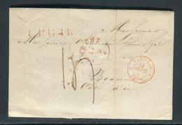 Pays Bas - Lettre ( Avec Texte ) De Utrech Pour La France En 1849 - Prix Fixe - Réf JJ 170 - Nederland