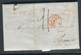 Pays Bas - Lettre ( Avec Texte ) De Utrecht Pour La France En 1851 - Prix Fixe - Réf JJ 175 - Nederland