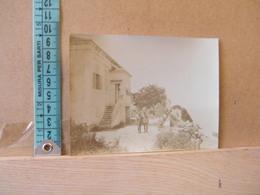 MONDOSORPRESA,  FOTOGRAFIA, RODI, COPPIA DI MILITARI IN POSA 1914 - Guerra, Militari