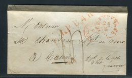 Pays Bas - Enveloppe De Gravenhage Pour La France En 1849 - Prix Fixe - Réf JJ 177 - Nederland