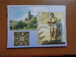 Mesen - Messines: Kerk, Crypte Ecce Homo, Kroonluchter -> Onbeschreven - Mesen