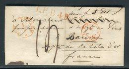 Pays Bas - Lettre ( Avec Texte ) De Gravenhage Pour La France En 1849 - Prix Fixe - Réf JJ 182 - Nederland