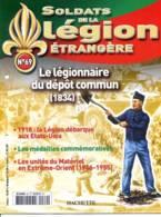N° 69 Légionnaire Depot Commun , 1918 Etats Unis , Medailles , Materiel En Extreme Orient  ,  Soldats Légion étrangère - Francese