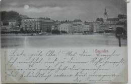 AK 0280  Gmunden - Mondscheinkarte Um 1899 - Gmunden