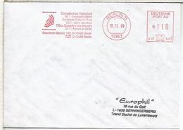 ALEMANIA BERLIN FRANQUEO MECANICO OFICINA EUROPEA DE PATENTES - Instituciones Europeas
