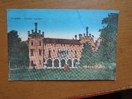 Italy / Thiene, Castello Colleoni -> Unwritten - Vicenza