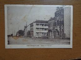 France / Fort Mahon Plage, Chalets De L'Avenue -> Written 1939 (kaart Is Vuil) - Fort Mahon