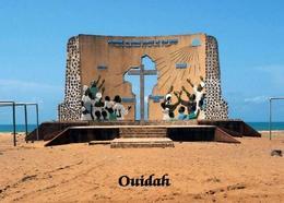 Benin Oudiah Millennium Memorial New Postcard - Benin