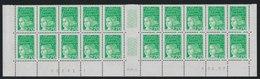 YT 3091a **  2,70F Vert Luquet, Basdf 20 TP 03.06.97, 10 Ex Sans BP Tàn - Plaatfouten En Curiosa