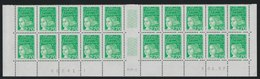 YT 3091a **  2,70F Vert Luquet, Basdf 20 TP 03.06.97, 10 Ex Sans BP Tàn - Errors & Oddities