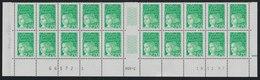 YT 3091a **  2,70F Vert Luquet, Basdf 20 TP 19.11.97, 6 Ex Sans BP, 4 Ex BP Invisibles Tàn - Varieties: 2000-09 Mint/hinged