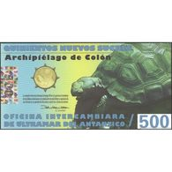 TWN - ISLAS GALAPAGOS (private Issue) - 500 Nuevos Sucres 5.11.2010 Polymer UNC - Non Classificati