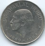 India - 1 Rupee - 1964 - Death Of Jawaharlal Nehru - KM76 - India