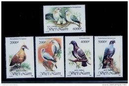 Vietnam Viet Nam MNH Perf Stamps 1992 : Pigeons & Dove / Bird (Ms648) - Vietnam
