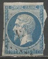 FRANCE - Oblitération Petits Chiffres LP 122 ARGENTAT (Corrèze) - 1849-1876: Période Classique