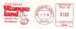 Freistempel 0436 Meerjungfrau Wangerland - Affrancature Meccaniche Rosse (EMA)