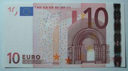 GERMANIA 10 EURO R016 I4  X2333 UNC DUISENBERG - EURO