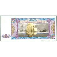 TWN - ISLE OF BOUVET (private Issue) - 10 Dollars 2012 Series C UNC - Non Classificati
