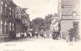 WEESP 1903 MUIDERBINNENWEG WINKEL TABAK KOFFIE THEE - MOOIE ANIMATIE - GELOPEN KAART - Weesp