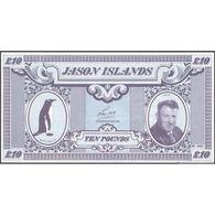 TWN - JASON ISLANDS (private Issue) - 10 Pound 1979 UNC - Non Classificati