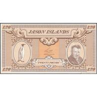 TWN - JASON ISLANDS (private Issue) - 20 Pound 1979 UNC - Non Classificati