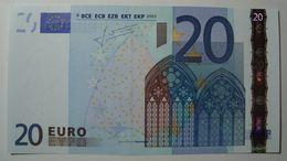 CIPRO 20 EURO G008 B5  G0026 UNC TRICHET - EURO
