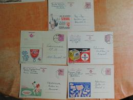 Lot De 5 Entiers Postaux Publibel (F8) - Ganzsachen