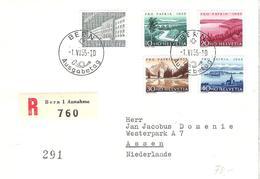 Schweiz Suisse Pro Patria 1955: Zu 71-75 Mi 613-617 Yv 562-566 Auf FDC Mit O BERN 1.VI.55 Ausgabetag (Zu CHF 100.00) - FDC
