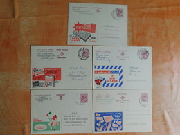 Lot De 5 Entiers Postaux Publibel (F8) - Stamped Stationery
