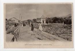 MARTINIQUE - SAINT PIERRE - Lot De 9 Cartes Anciennes 1900..Chambre De Commerce, Marché, Phare, Fête De 14 Juillet... - Other