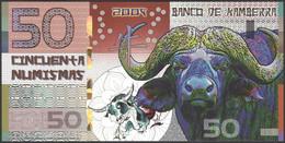 TWN - KAMBERRA (private Issue) - 50 Numismas 2009 00000XXXX Year Of The Ox UNC - Non Classificati