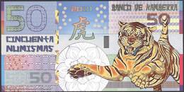 TWN - KAMBERRA (private Issue) - 50 Numismas 2010 00000XXXX Year Of The Tiger UNC - Non Classificati