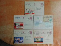 Lot De 5 Entiers Postaux Publibel (G8) - Postwaardestukken