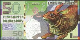 TWN - KAMBERRA (private Issue) - 50 Numismas 2011 00000XXXX Year Of The Rabbit UNC - Non Classificati