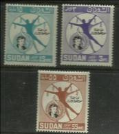 Sudan - 1964 Eleanor Roosevelt Anniversary MLH *  SG 236-8  Sc 170-2 - Sudan (1954-...)