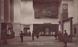 Le Havre : La Nouvelle Gare - Interieur Du Grand Hall - Station
