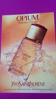 OPIUM   YVES SAINT LAURENT - Perfume Cards