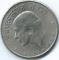 India - 50 Paise - 1964 - Death Of Jawaharlal Nehru - KM57 (Hindi Legend) - India