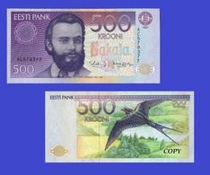 Estonia 500 1991 - Estonie