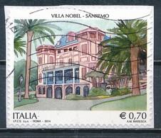 °°° ITALIA 2014 - VILLA NOBEL SANREMO °°° - 6. 1946-.. Repubblica