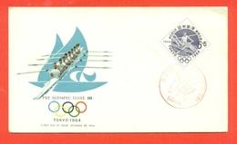 CANOTTAGGIO - OLIMPIADI TOKYO - 1964 JAPAN - GIAPPONE - Canottaggio