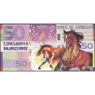 TWN - KAMBERRA (private Issue) - 50 Numismas 2014 00000XXXX Year Of The Horse UNC - Banconote
