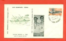 CANOTTAGGIO - OLIMPIADI ROMA - 1960 - CAMPIONI OLIMPICI SVEZIA - FREDRIKSSON E  SJODELIUS - Canottaggio