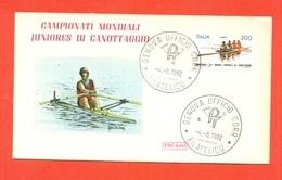 CANOTTAGGIO - CAMPIONATI JUNIORES MONDIALI - 1982 - Canottaggio