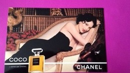 COCO CHANEL   Grande Format - Perfume Cards